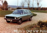 Mum's Old VW Polo