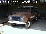 Dad's Land Rover 110